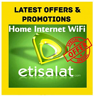 ETISALAT NEW ELIFE OFFER 389 MONTHLY 50 MBPS SPEED - 299درهم